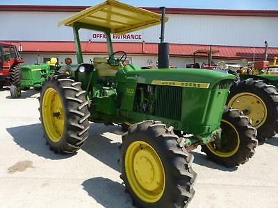 1972 John Deere 3020 Diesel Hfwa Tractor For Sale Rops & Canopy Dual Hydraulics