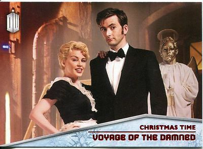 Doctor Who 2015 Christmas Time Chase Card CT-3 Voyage Of The Damned