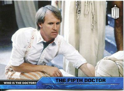Doctor Who 2015 Who Is The Doctor? Chase Card D-5 The Fifth Doctor