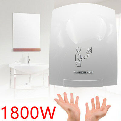 Bathroom Automatic High-speed Electric Hand Dryer Instant Heat & Dry