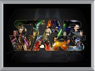 Star Wars Movie Art A1 To A4 Size Poster Prints