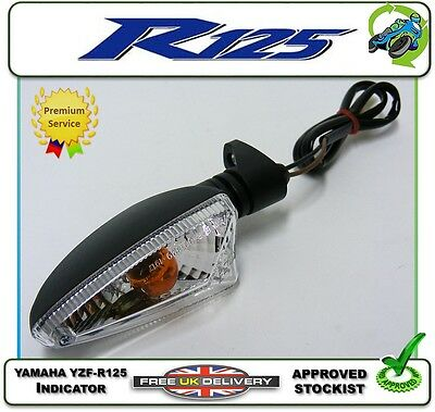 New Front Right Indicator Fits Yamaha Yzfr125 Yzf-R125 R 125 08 09 10 11 12 13