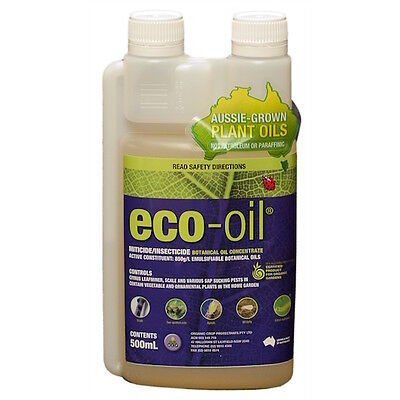 Eco-oil - Organic Miticide and Insecticide - 500ml