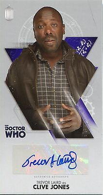 Doctor Who The Tenth Doctor WS Autograph Card WA-TL Trevor Laird as Clive Jones