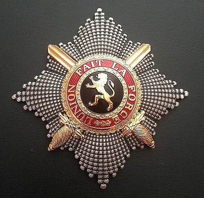 Museum Quality Belgian Grand Cross Star Royal Order Of Leopold 1832