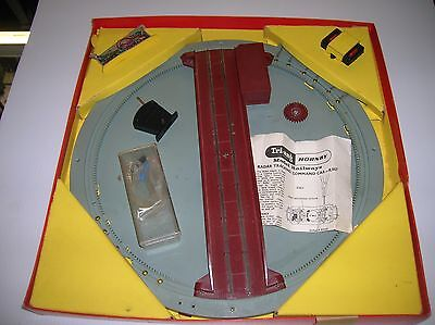 TRI-ANG Turntable #R408 Electric HO/OO boxed needs a gear lot # 10921