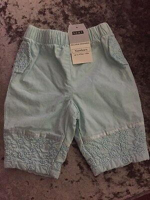 Next Baby Newborn Trousers. Brand New! Girls