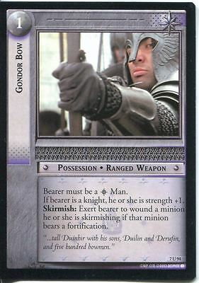 Lord Of The Rings CCG Card RotK 7.U94 Gondor Bow