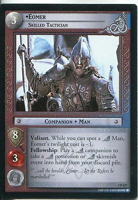 Lord Of The Rings CCG Card RotK 7.R227 Eomer, Skilled Tactician
