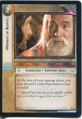 Lord Of The Rings CCG Card RotK 7.R44 Moment Of Respite