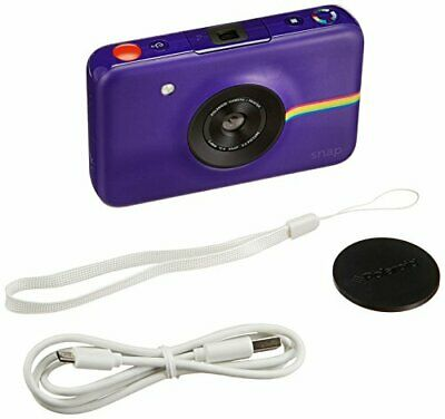 Polaroid Snap Instant Digital Camera (Purple) with Zero Ink Printing Technology