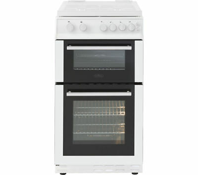 BELLING FS50GTCL 50 cm Gas Cooker - White & Black