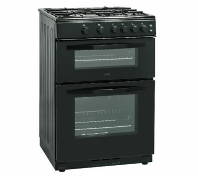 LOGIK LFTG60B16 Single Conventional Gas Cooker With Seperate Grill Black
