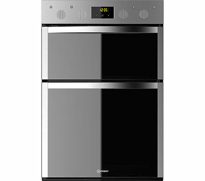 INDESIT Aria DDD5340CIX Electric Built-in Double Oven Stainless Steel