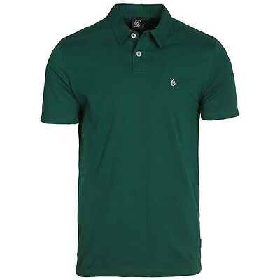 Volcom Wowzer S/S Polo Shirt - Grass Green. Volcom Mens Volcom Polo Shirt