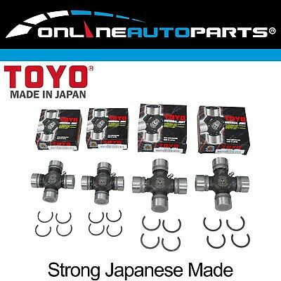 4 Toyo Japanese Made Universal Uni Joint for Patrol GQ Y60 GU Y61 TD42 TB45E 4x4