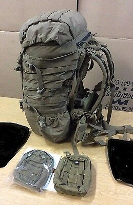 Combo Usgi Usmc Complete Filbe Back Pack With Extras, Rucksack Coyote
