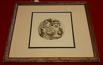 Charles Bragg  Hand Signed and Numbered Lithograph Framed