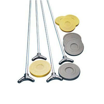 Champion Sports SBA10 Outdoor Shuffleboard Cue and Puck Set Shuffleboard