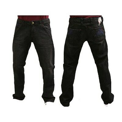 Volcom Men's Facets of POVD Jeans Casual BPS (Burgundy Pinstripe Wash) W32inch