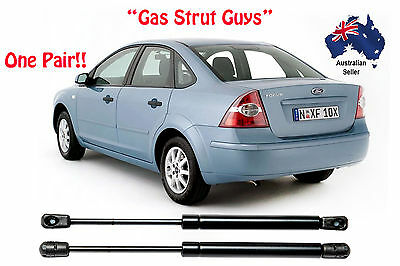 Ford Focus Sedan Boot gas struts 2000 to 2010 Models LR to LX New PAIR