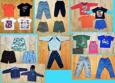 Boys bundles of clothes aged 2-3 years