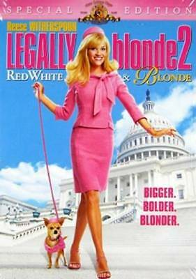 Legally Blonde 2: Red, White and Blonde (DVD, 2003) NEW