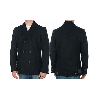 Volcom Men's Double-Breasted Keaton Jacket with Back Vents