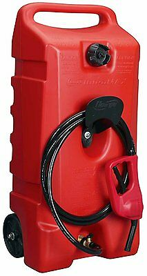 New Scepter 06792 Flo N'go Duramax 14 Gallon Fuel Transfer Caddy Gas Can 4496360