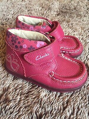 Clarks First Shoes - Girls Size 4.5F