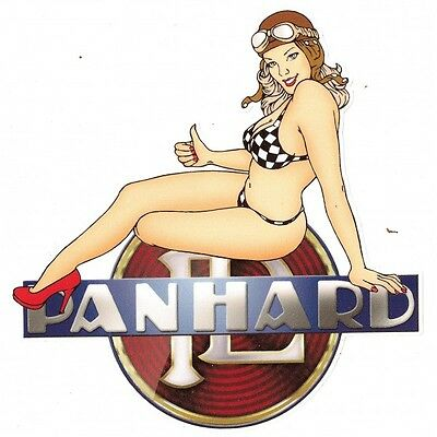 PANHARD left Pin Up Sticker gauche