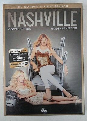 Nashville: The Complete First Season 1 (DVD, 2013, 5-Disc Set)