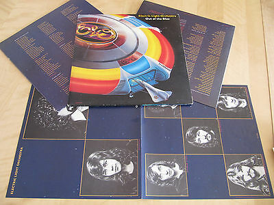 Electric Light Orchestra, Out Of The Blue, Poster,  2LP, cleaned