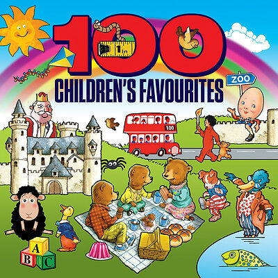100 Children's Favorites VARIOUS ARTISTS Best Of Songs ESSENTIAL MUSIC New 4 CD