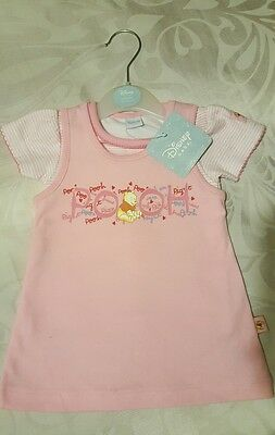 disney bay girl dress and tshirt outfit. age 3-6 months