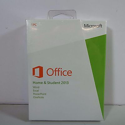 Microsoft Office Home And Student 2013 Sku 79G-03550 Brand New (D2500)