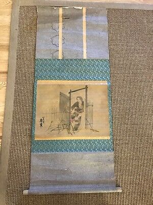 Antique CHINESE Painting SCROLL * Asian Art