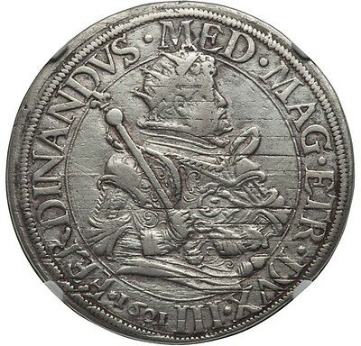 Italy Pisa Ferdinand Ii Medici 1601 Tallero Silver Coin Certified Ngc Vf Details