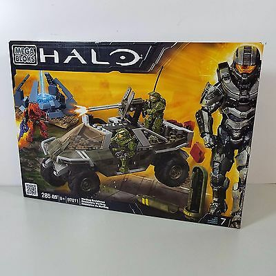Mega Bloks Halo Warthog Resistance 97011 New In Box 285 Pcs (T51)
