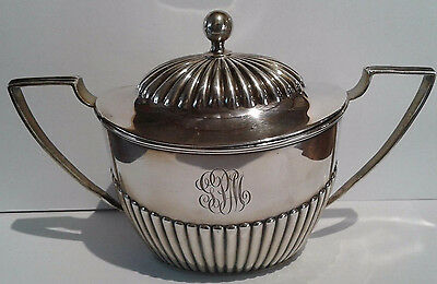 Gorham Sterling Silver Sugar Bowl With Lid