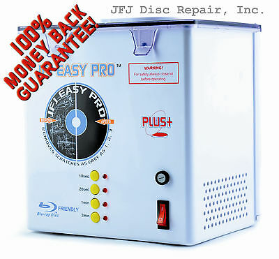 110 Volt JFJ Easy Pro Plus CD/DVD Repair Machine with Extra Supply Kit