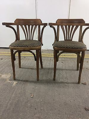 One Original Vintage Mid Century Bentwood Bistro Dining Chair, Sold Separately
