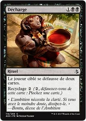 MTG Magic AKH - (x4) Unburden/Décharge, French/VF