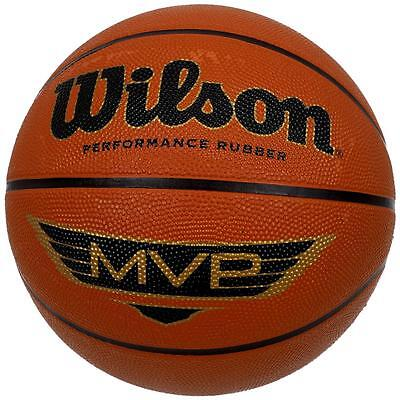 Ballon de basket Wilson Mvp traditional 7 series Orange 11996 - Neuf