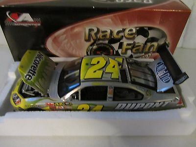 Jeff Gordon #24 Nicorette 2008 MA Mesma Chrome 1/24 Scale NASCAR Diecast