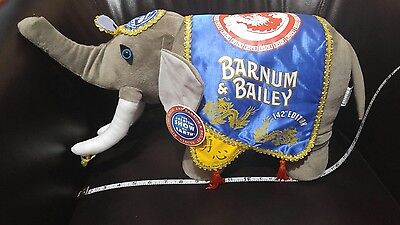 Ringling Bros Barnum & Bailey 142nd Edition Collectible Stuffed Elephant rare