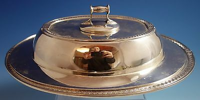 Etruscan by Gorham Sterling Silver Vegetable Dish Covered #A9339 (#1477)
