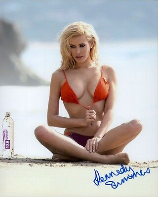 Kennedy Summers autographed 8x10 photo COA