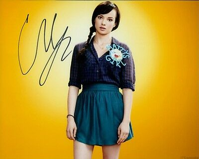 Ashley Rickards autographed 8x10 photo COA