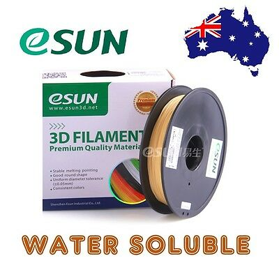 eSUN PVA Water Soluble 3D Printer Filament 1.75mm & 3mm 0.5kg Support Material